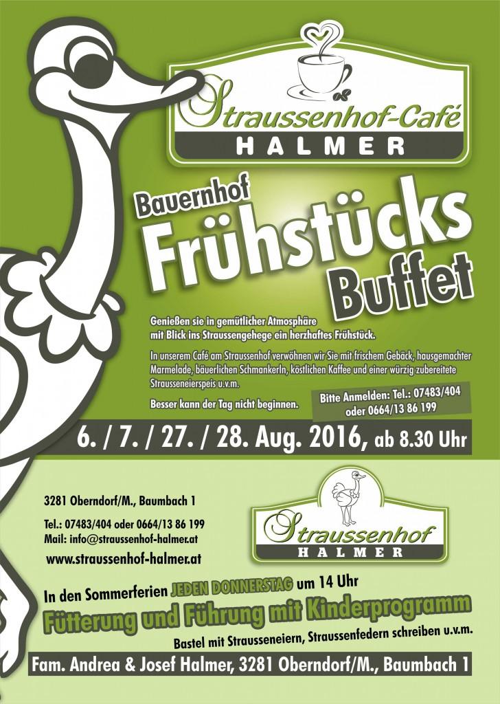 Bauernhof Frühstücks Buffet